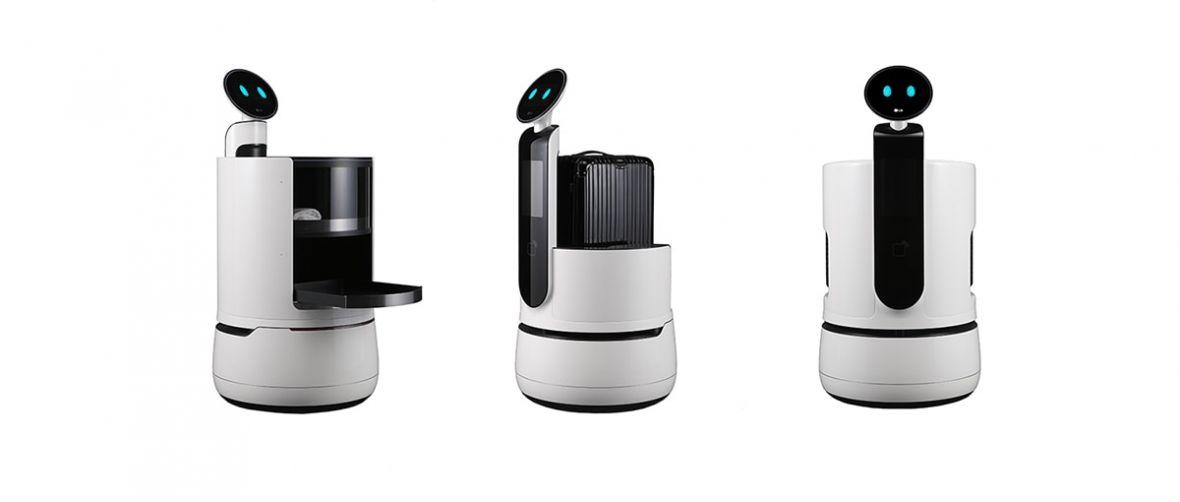 LG zaprezentowało właśnie trzy roboty, które odbiorą pracę ludziom