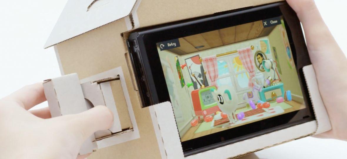 Nintendo miesza klocki LEGO, Google Cardboarda i Switcha w jeden produkt. Oto zabawki Nintendo Labo