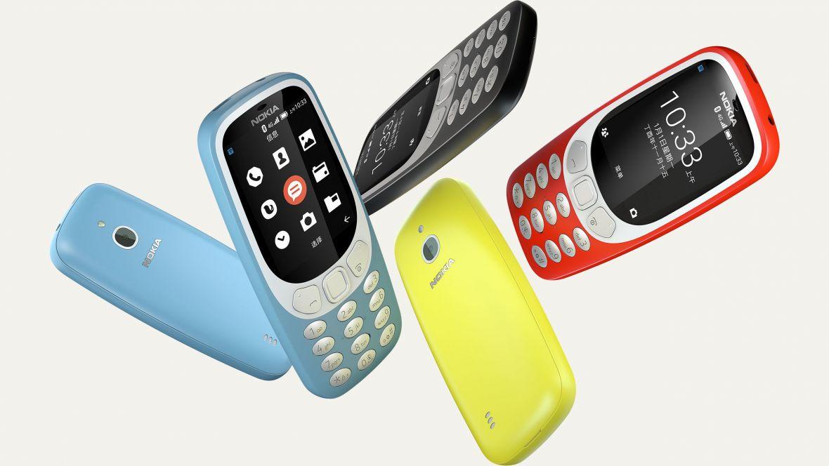 Oto nowa Nokia 3310. Z LTE i własną wersjąAndroida