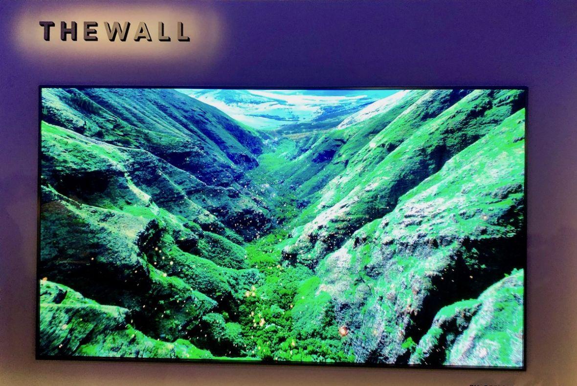 The Wall od Samsunga to potężny powiew świeżości na skostniałym rynku telewizorów
