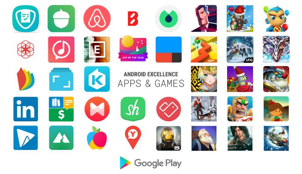 Google właśnie wybrał najlepsze gry i aplikacje na Androida - pełna lista