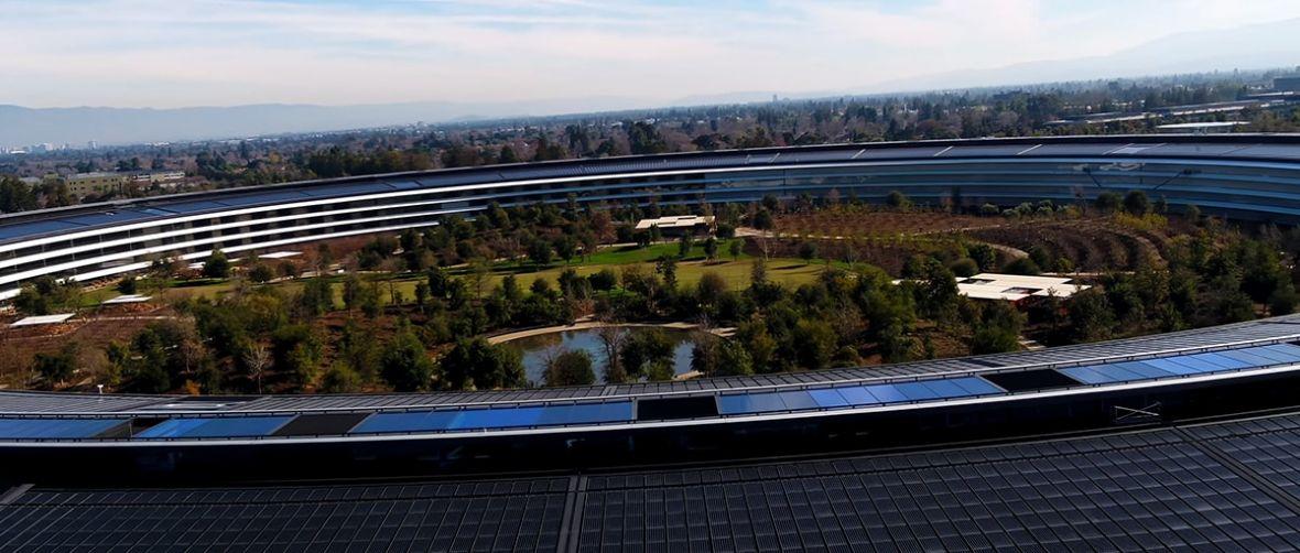 Statek kosmiczny Apple'a jest już gotowy do misji. Oto Apple Park na najnowszym filmie