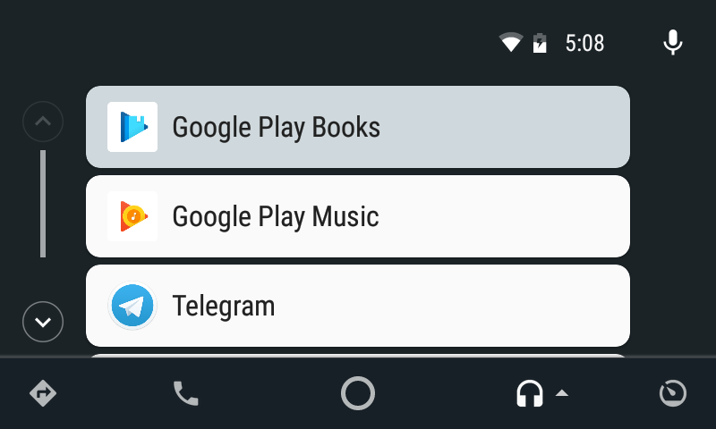 google play audiobooki na android auto
