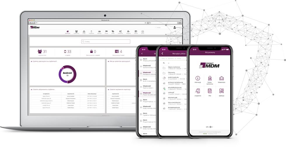 Proget MDM (Mobile Device Management) – polska platforma do zarządzania urządzeniami mobilnymi