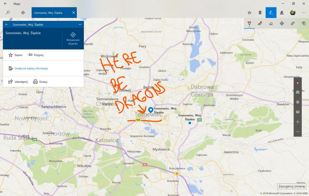 Microsoft Bing Mapy