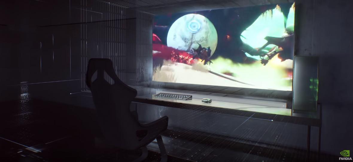 Ten monitor nie zmieści się na biurku. Nvidia BFGD ma 65 cali i 120 Hz