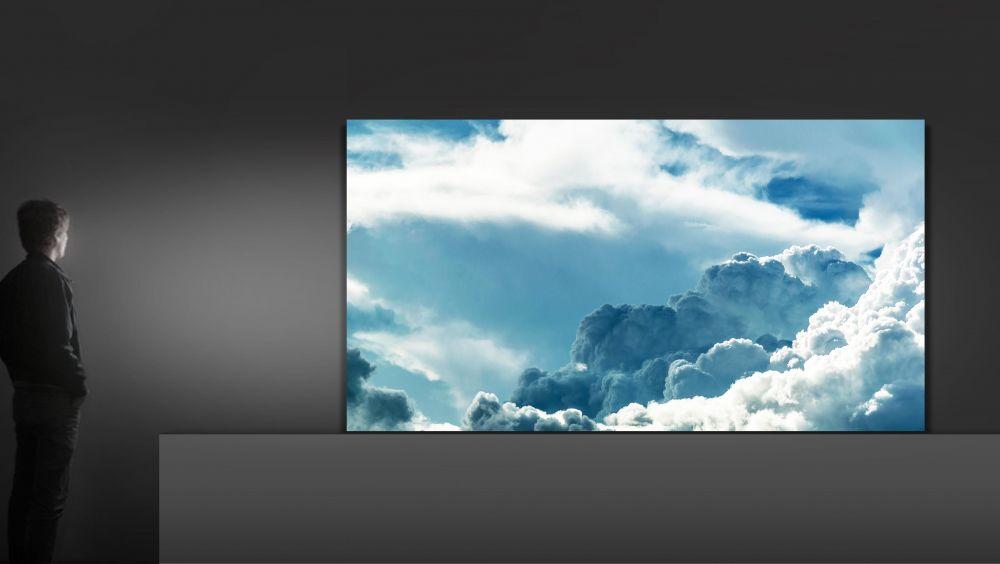 telewizory microled samsung the wall