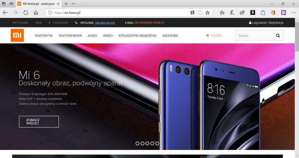 Polski sklep Xiaomi