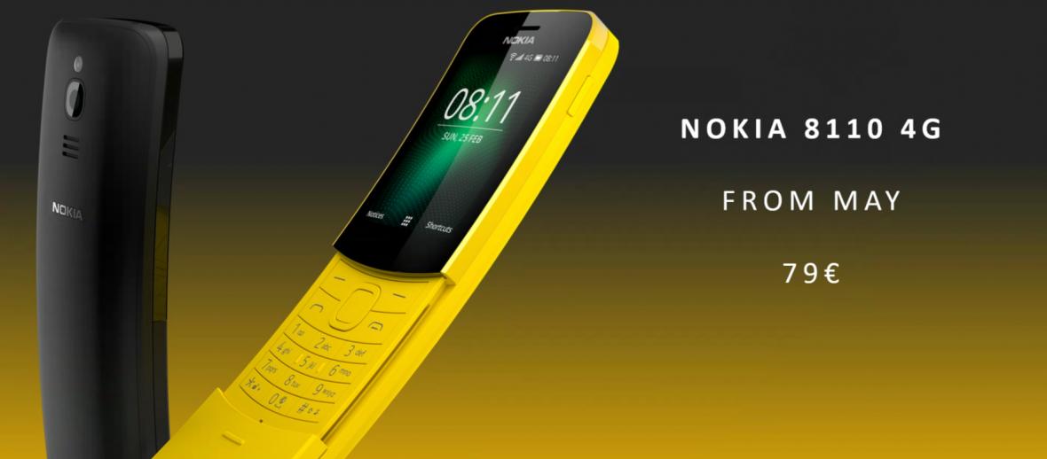 Telefon z Matriksa doczeka się nowej wersji. Powitajcie odświeżoną Nokię 8110