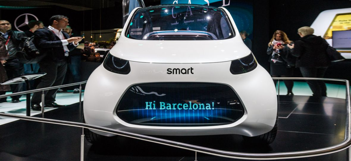 Smart Vision EQ Fortwo to piękna i przerażająca wizja przyszłości motoryzacji