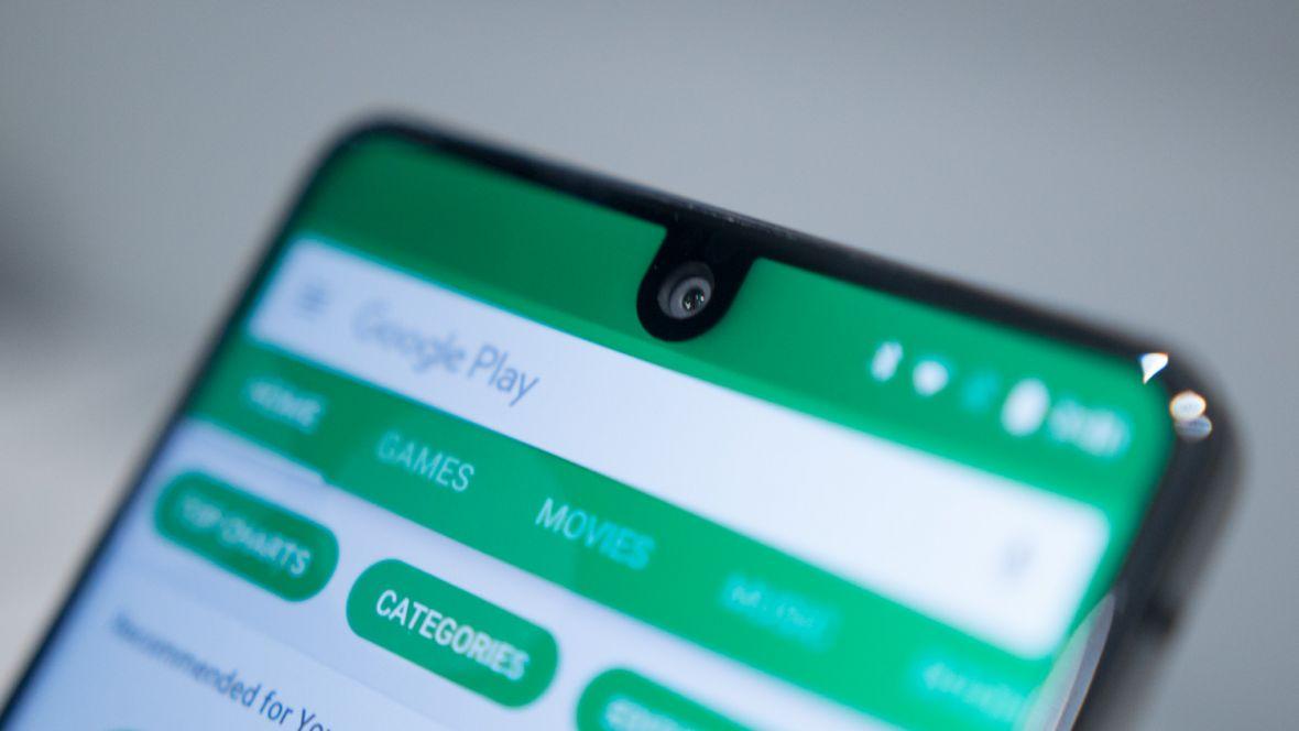 Samsung pokazał 4 pomysły na ekran smartfona. 3 z (różnymi) notchami i 1 bez
