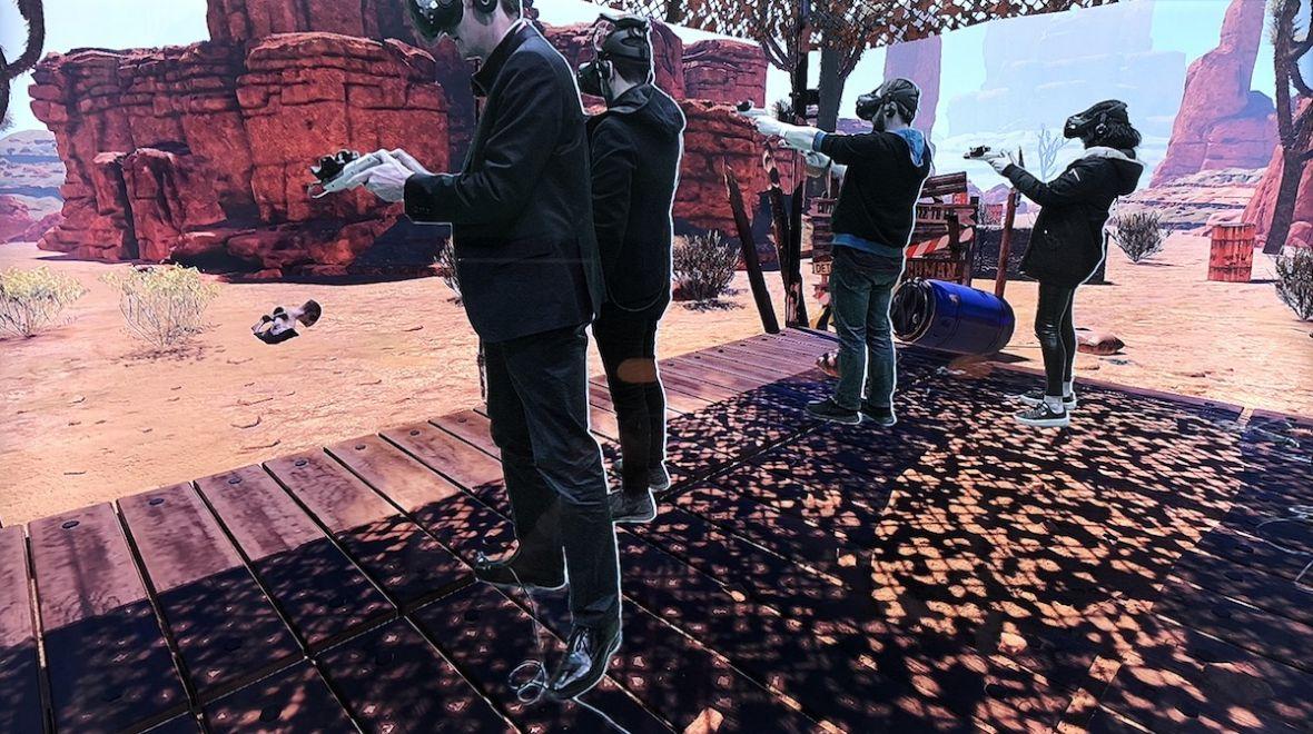 Czterech graczy, horda zombie i gogle HTC Vive na głowie. Efekt był niesamowity