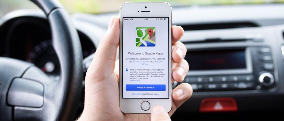 Google Maps na iPhone'a po roku doganiają wersję z Androida. Nowości nie tylko dla kierowców