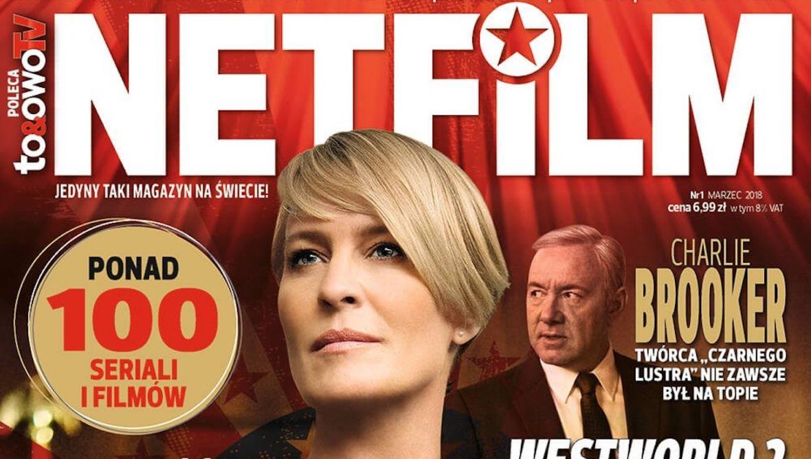 Netfilm, czyli gazeta o Netflix i HBO GO trafi do kiosków. Co dalej, chorały gregoriańskie o Elonie Musku?