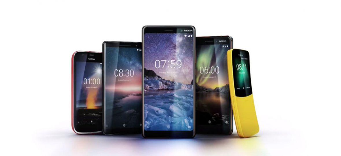 Oto wszystkie smartfony, które Nokia wypuściła w 2018 roku