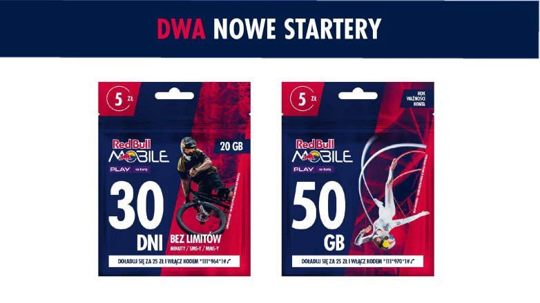 red bull mobile nowa oferta abonament prepaid play 9