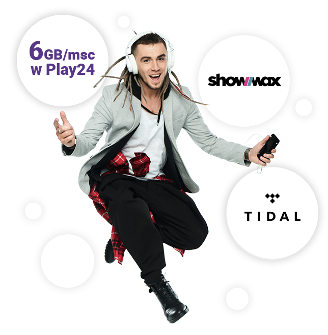 tidal showmax za darmo w play prepaid na karte 18 gb internetu pakiet 1