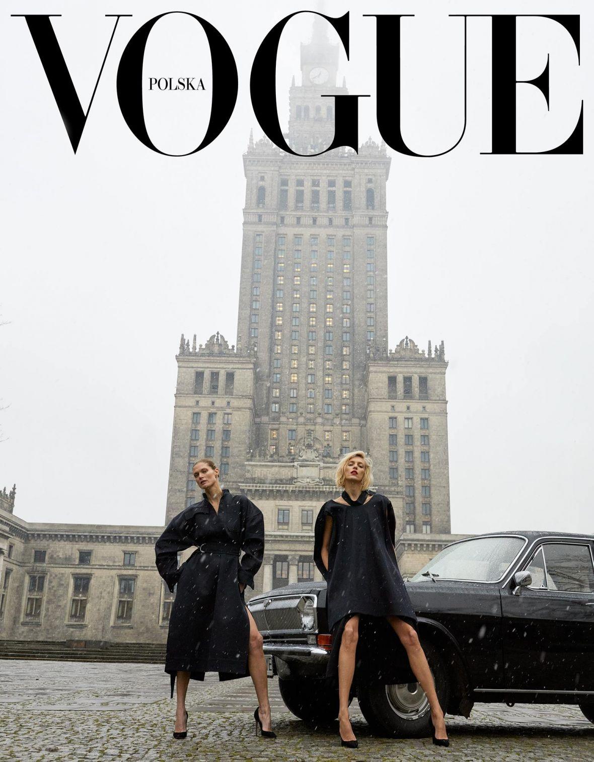 Pierwsza okładka Vogue Polska wygląda jak przypadkowe zdjęcie z Instagramu