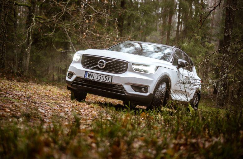 Volvo XC40 to piękne auto pełne ciekawych detali. Oto najciekawsze z nich