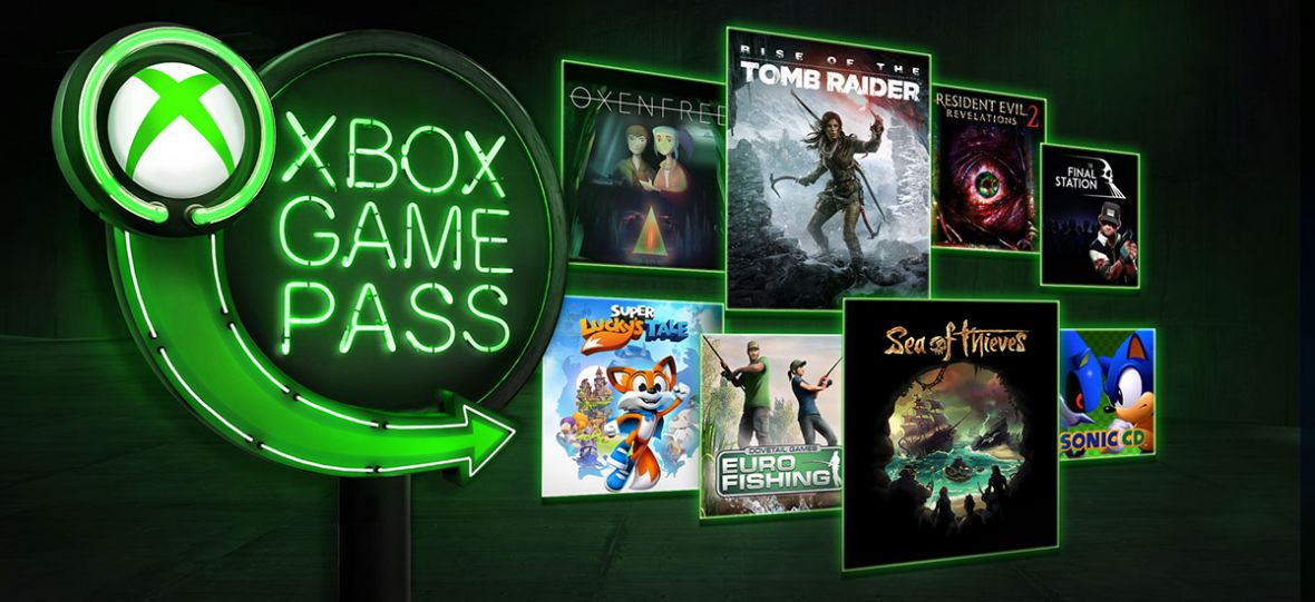 Sea of Thieves i Rise of the Tomb Raider to tylko niektóre z gier, które dodano do Xbox Game Pass