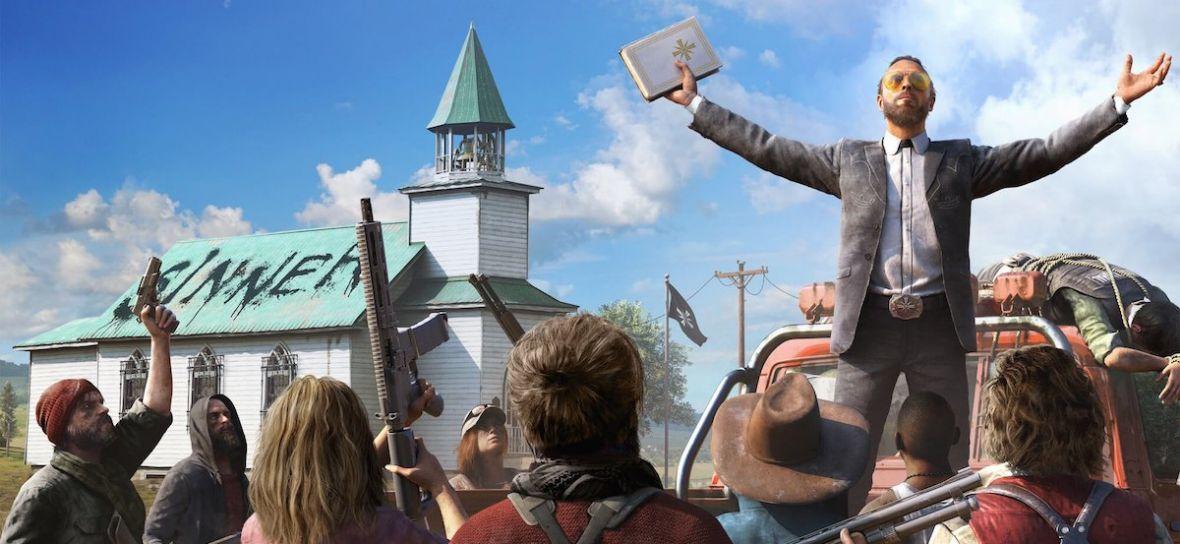 Scenariusz Far Cry 5 nie daje mi spokoju. Jakim cudem nikt nie zauważył zmilitaryzowanego państewka w środku Stanów