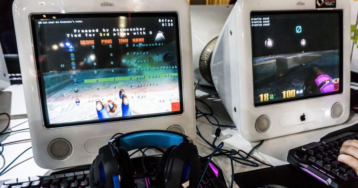 I kto mówił, że na Macach nie da się grać? Na IEM 2018 najwięcej czasu spędziłem katując Quake'a 3 na eMacu