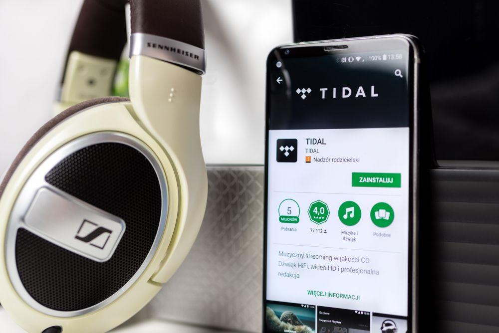 Tidal oferuje najwyższą dostępną na smartfonach jakość dźwięku w telefonie do słuchania muzyki.