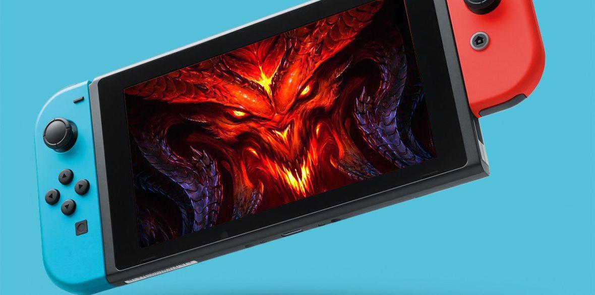 Diablo III w pociągu i nad wodą. Blizzard wypiera się edycji dla Switcha, ale media wiedzą swoje