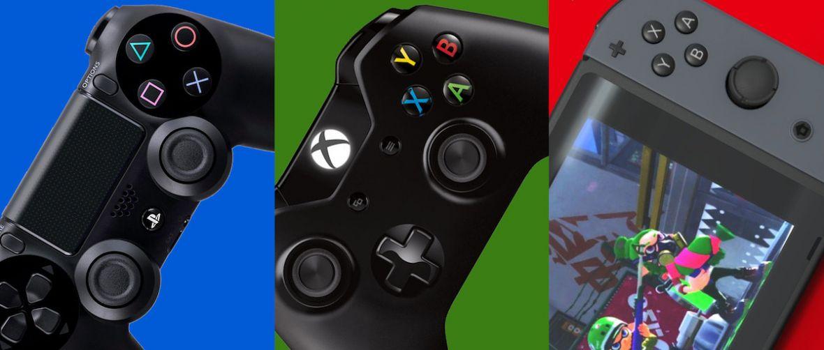 Niemal dokładnie 3:2:1. Ten stosunek sprzedaży konsol Nintendo, Sony i Microsoftu otwiera rynek w roku 2019