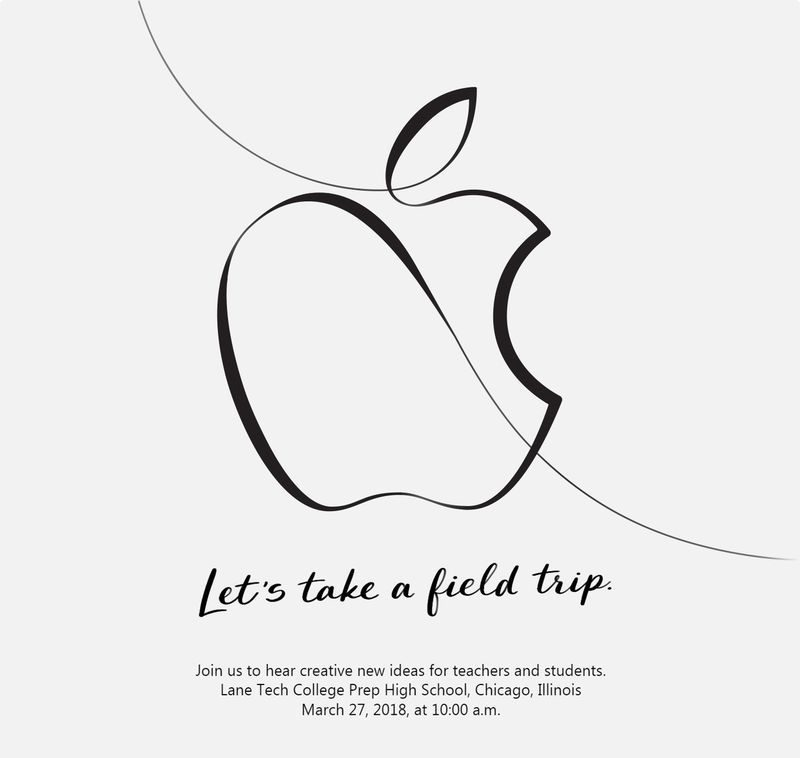 apple field trip konferencja ipad 2018