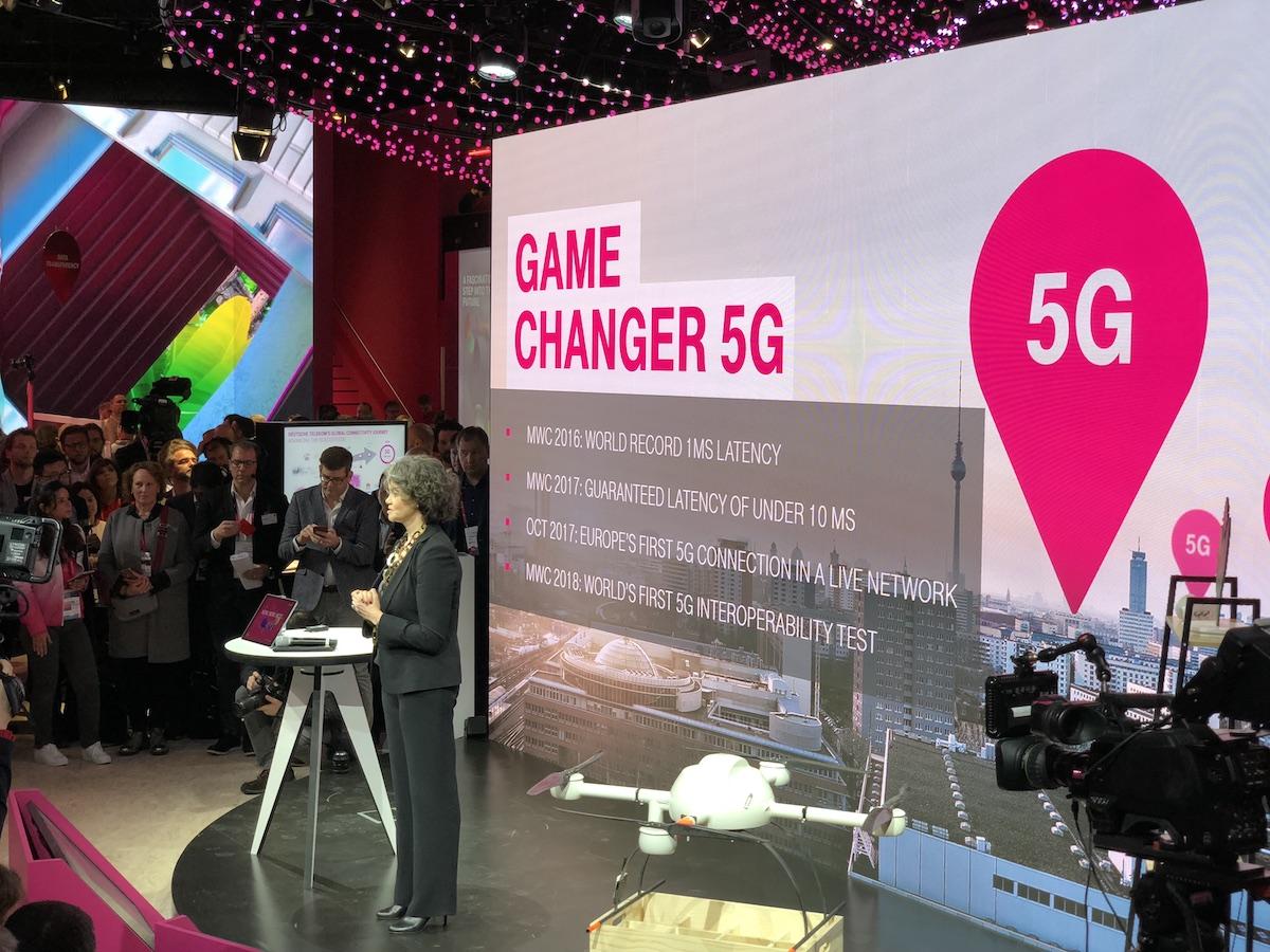 deutsche telekom t-mobile mwc 2018 5g 100