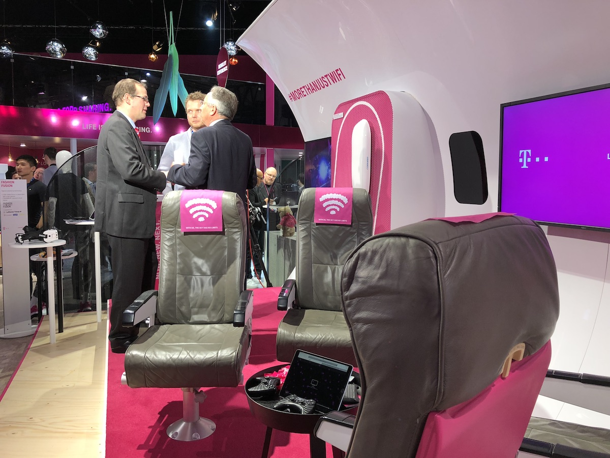 deutsche telekom t-mobile mwc 2018 5g 63 European Aviation Network