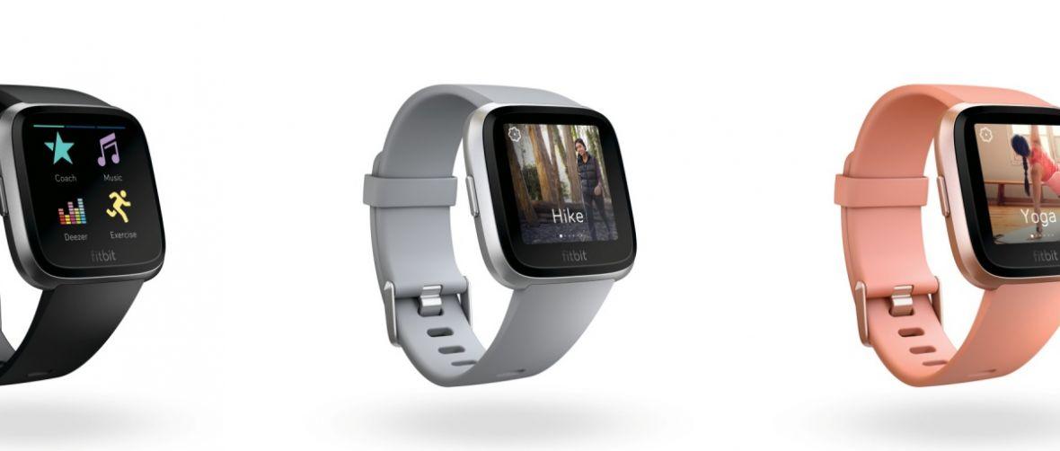 To może być godny następca Pebble Time. Fitbit Versa ma czym skusić klientów