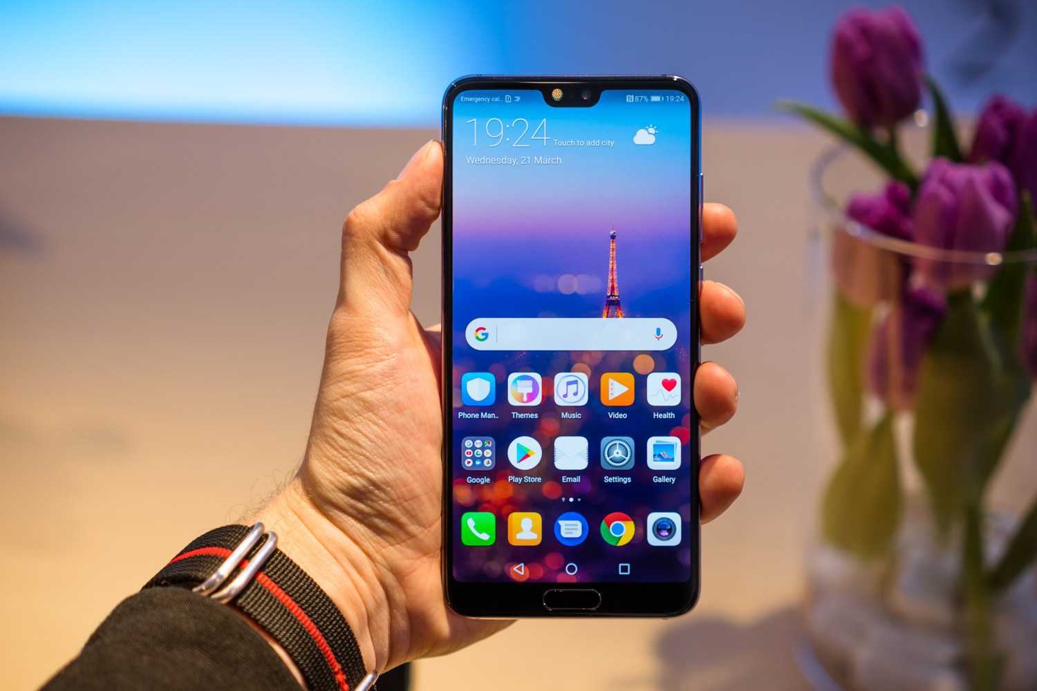 Huawei Mate 20 Pro, however, without Android Q beta access