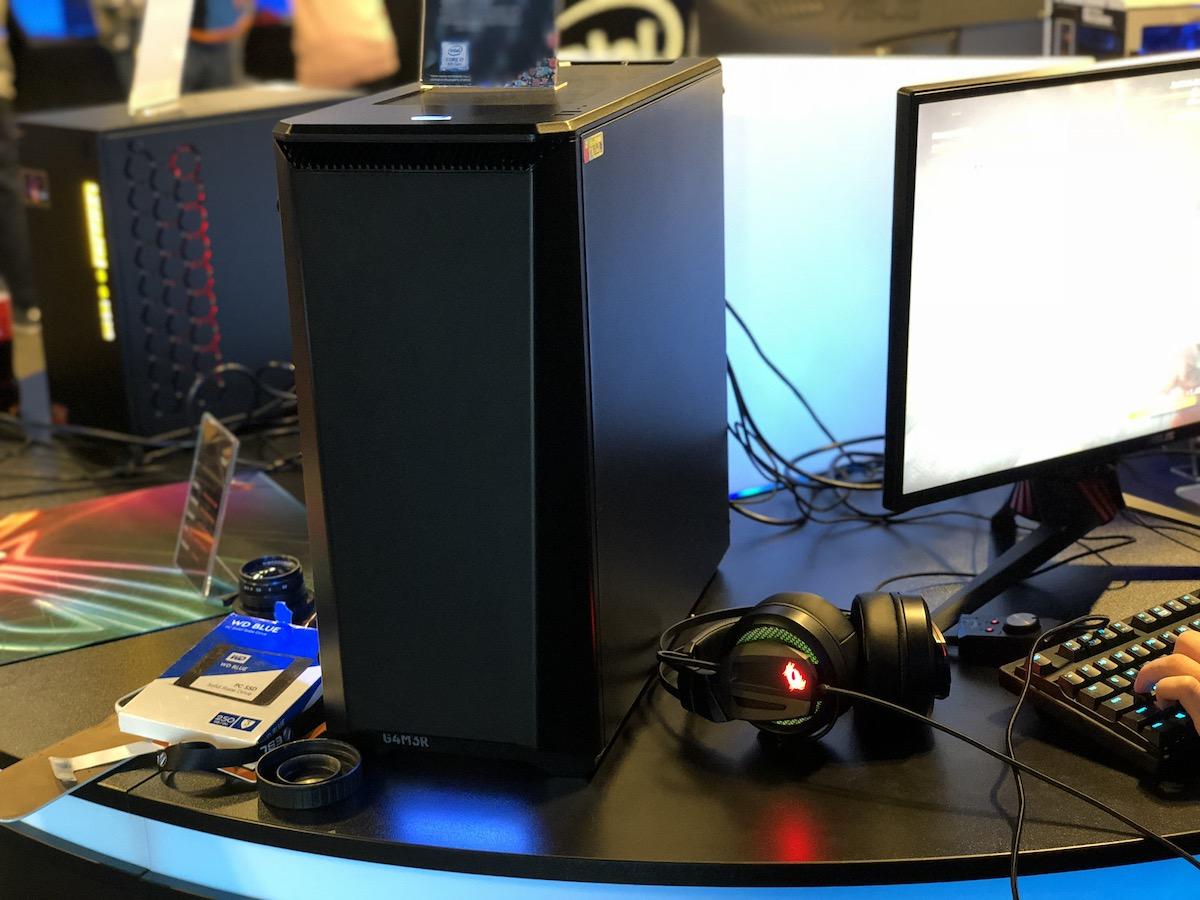 intel iem 2018 certified pc komputery dla graczy gamingowe do gier 33