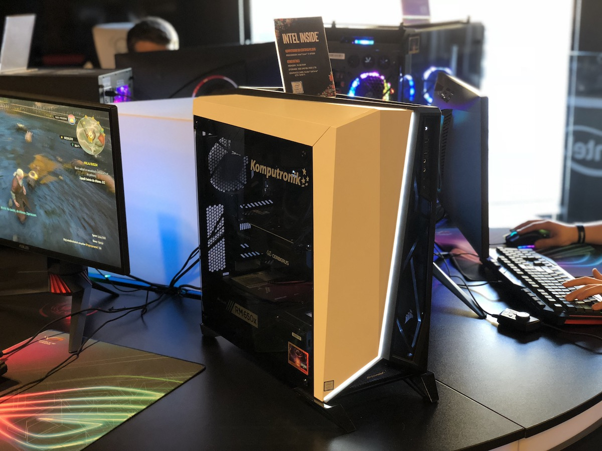 intel iem 2018 certified pc komputery dla graczy gamingowe do gier 6
