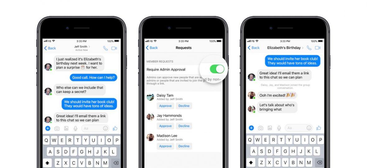 Facebook może i przechodzi kryzys, ale ekipa Messengera ratuje rozmowy grupowe przed trollami