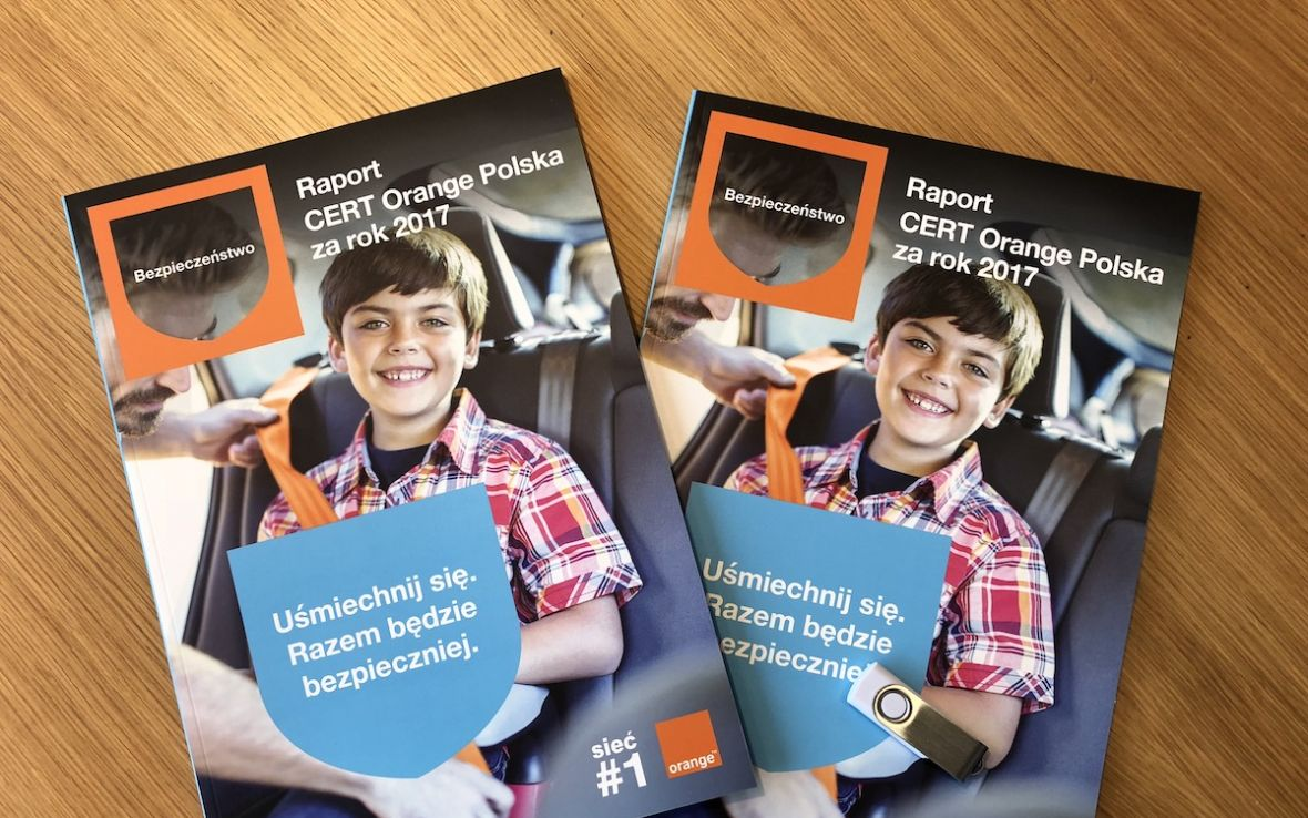 Orange prezentuje raport CERT za 2017 rok, czyli CyberTarcza w praktyce