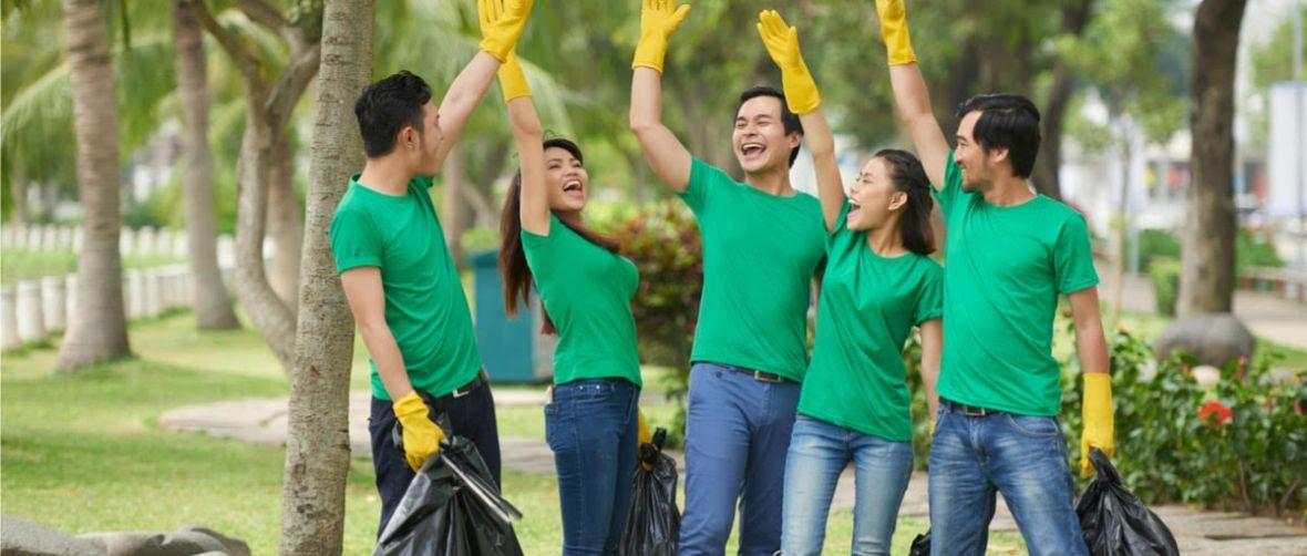 Plogging łączy bieganie ze zbieraniem śmieci. Szwedzki pomysł na spędzanie wolnego czasu dotarł na Śląsk