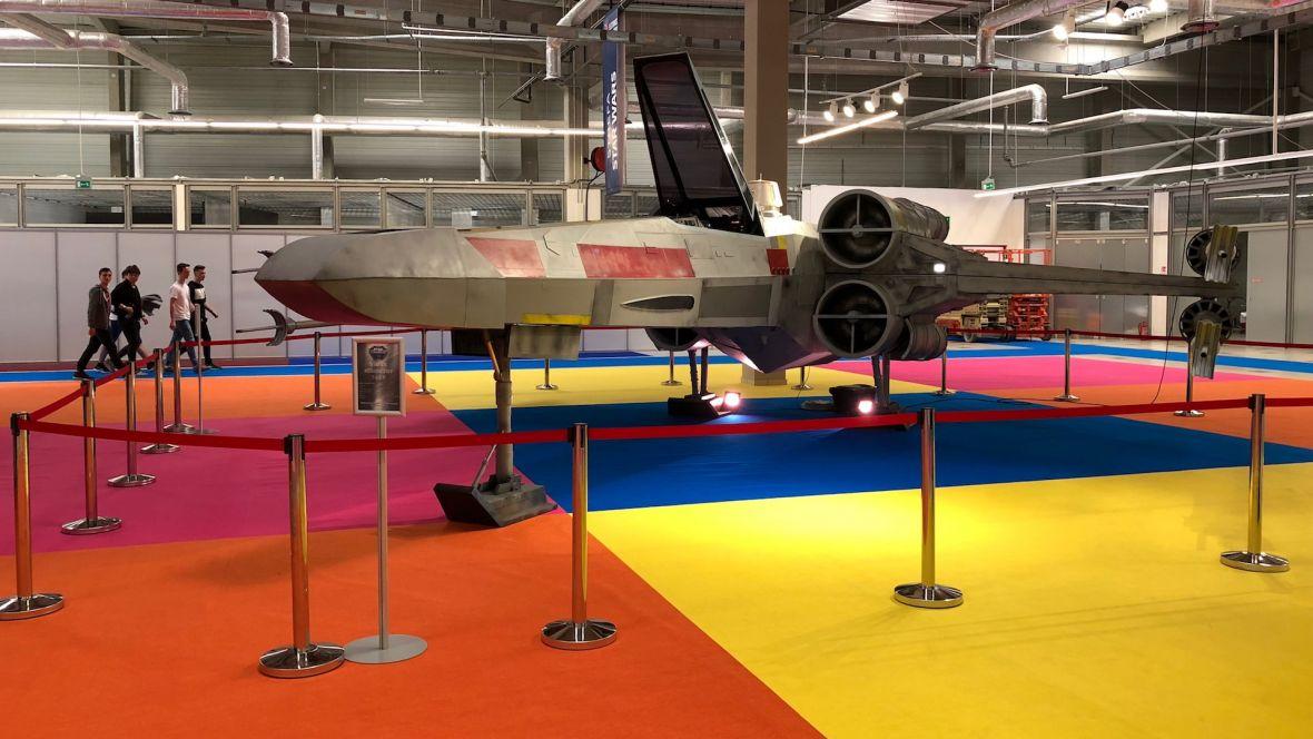 X-wing w skali 1:1 to gratka dla fanów Star Wars podczas Electronics Show 2018