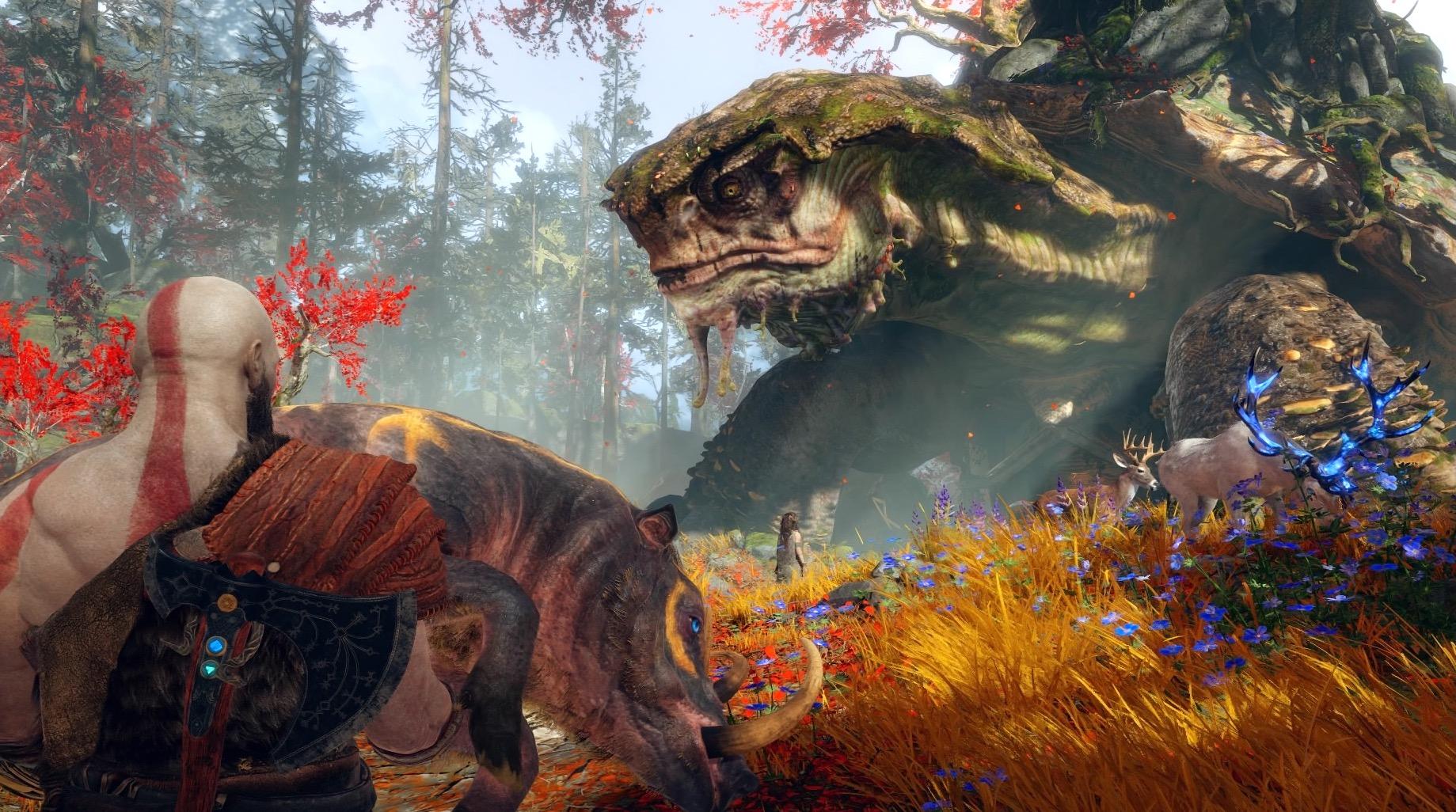 Najlepsze gry 2018 na wyłączność dla PlayStation: God of War
