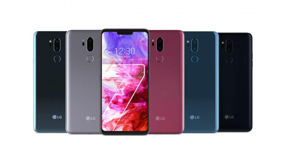LG G7 – wiemy, jak będzie wyglądał i kiedy zadebiutuje