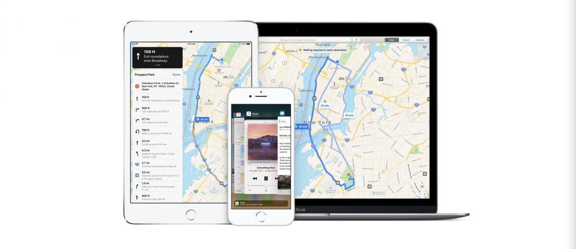 Ważna zmiana w Mapach Apple dla Polski. W końcu dowiesz się, który pas powinieneś zająć