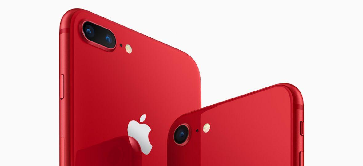 iPhone 8 i iPhone 8 Plus w nowym kolorze. Apple zrozumiał, jak powinien wyglądać czerwony telefon