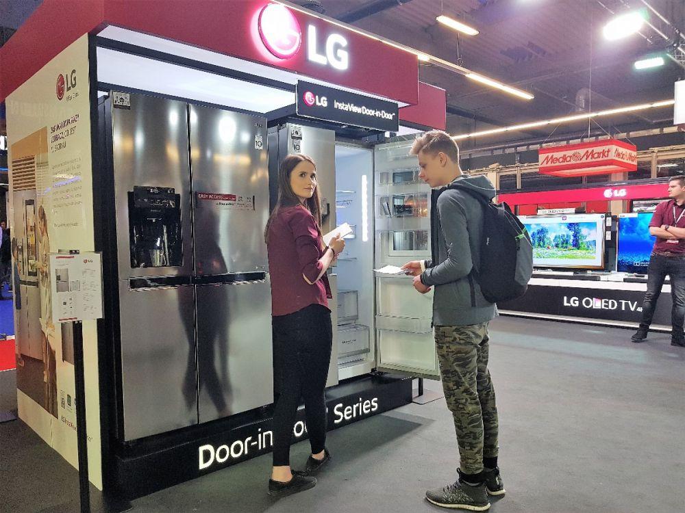 lg thinq electronics show