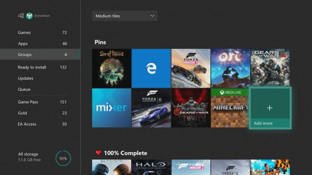 majowa aktualizacja Xbox One