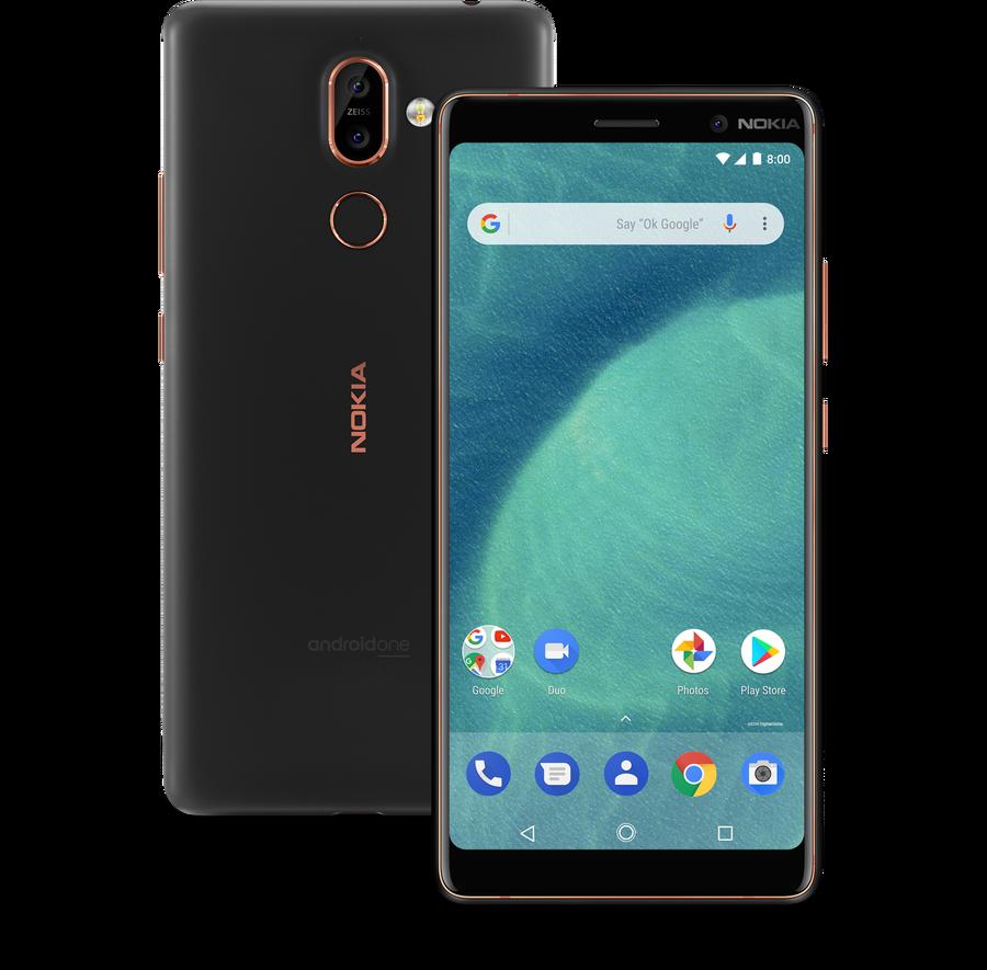 Wszystkie smartfony, które Nokia wypuściła w 2018 roku: Nokia 7 Plus