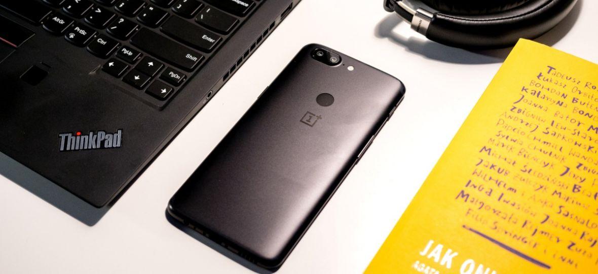 Telefon roku 2017 w 2018. OnePlus 5T po 5 miesiącach