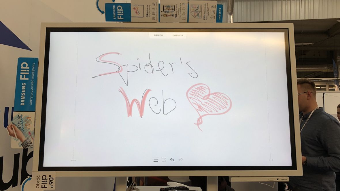 Jeśli taka tablica stałaby w mojej szkole, rwałbym się do odpowiedzi