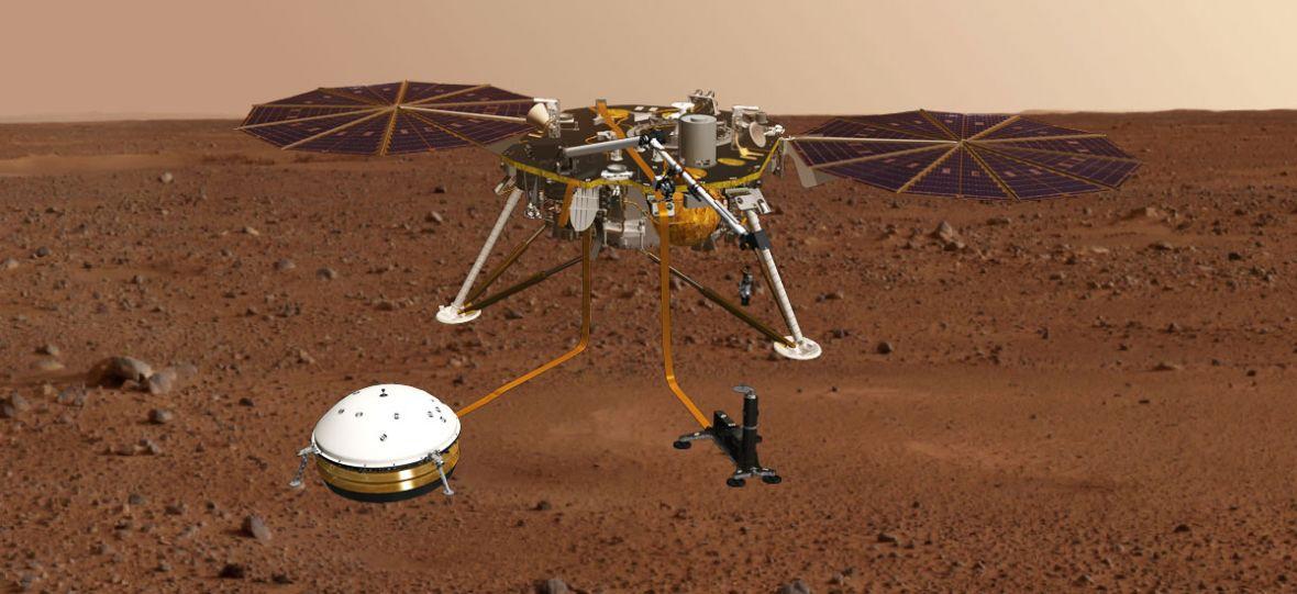 Sonda InSight rozpocznie wreszcie swoją podróż na Marsa. Na jej pokładzie znalazł się polski akcent
